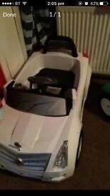 Electric kids car used once last christmas,