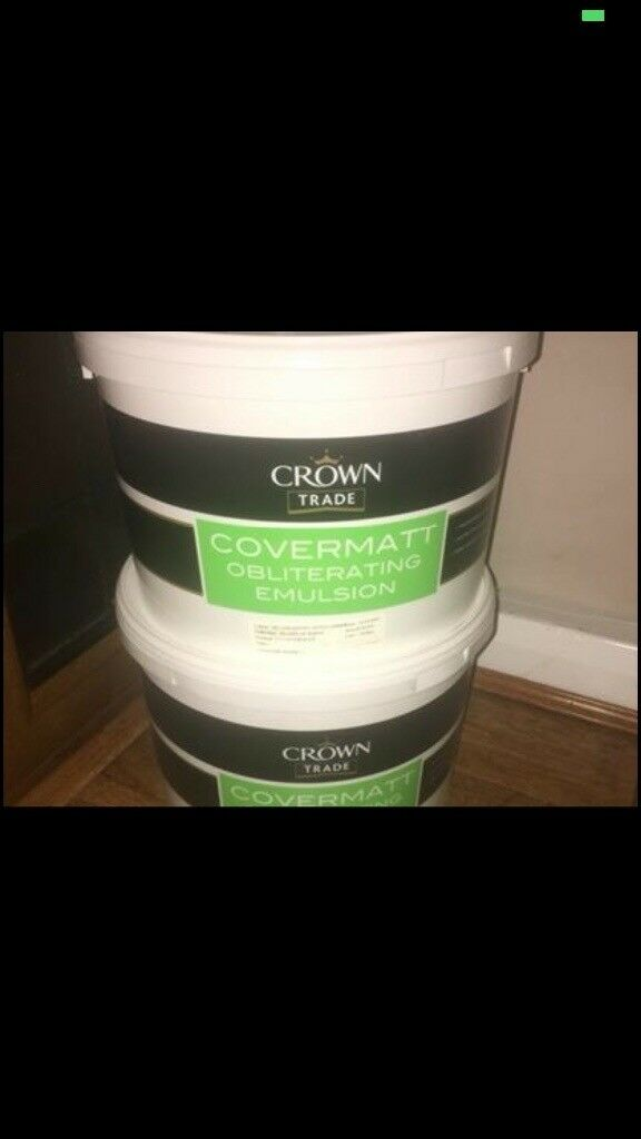 Crown trade covermatt obliterating emulsion | in Willenhall, West Midlands  | Gumtree