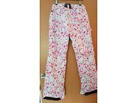 de68c23df5d1 Surfanic floral womens snowboard trousers (M)