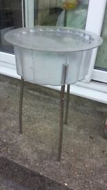 Ice Bucket on stand - comes with lid - Can help deliver it locally FREE
