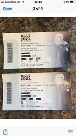 Billy Joel tickets x2 Now Sold