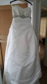 Wedding dress Ellis bridals size 10
