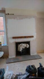 Brand new fireside Oak beam