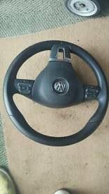 Mark 6 steering wheel airbag complete