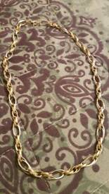 gold chain 14 ct 50 inches 18 grams