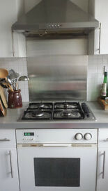 Attractive white Zanussi electric oven good working order