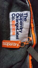 Superdry zip up hoodie (mens)