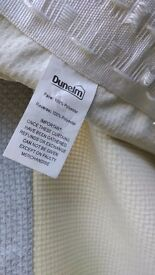 2 sets of Heavy Duck-Egg Curtains, brilliant condition