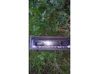JVC CHanger Player plus Kenwood radio.