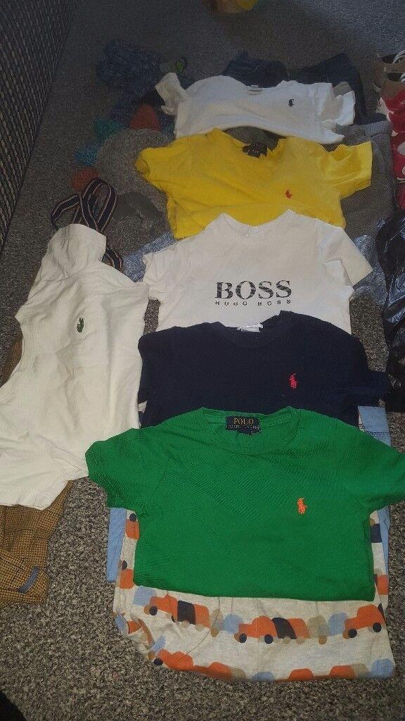 Boys 18-24, 2y clothing bundle