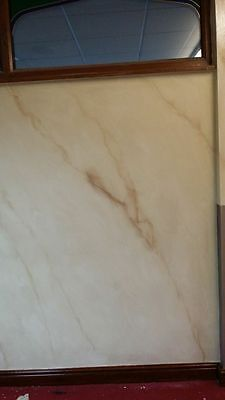 painted effect of marble