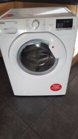 Hoover washing machine 8kg 1600 spin