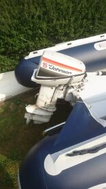 Johnson 15hp outboard boat engine