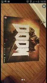 Doom. NEW. Retail limited edition mat.