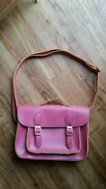 Girls Pink Satchel Bag NWOT