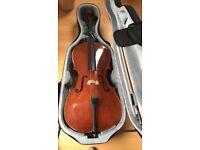 3/4 size cello instrument