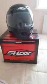 Helmet shox
