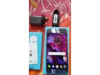 Motorola moto x4 Sterling blue UNLOCKED 4G NEW price Negotiable