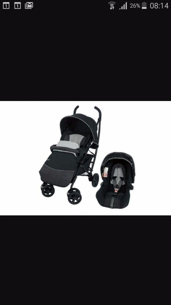 Mothercare curv travel systemin Crumlin, County AntrimGumtree - Mothercare curv grey and black very strudy and handy pram 55pd ono need gone asap