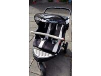 Petite Star Extreme Charisma twin pushchair