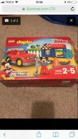 Mickey Mouse duplo blocks