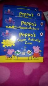 Peppa pig super activity case