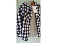Boys fully lined Jacket 100% Cotton From M & S -New