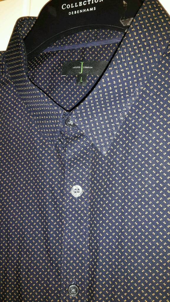 JASPER CONRAN SHIRT LARGE AS NEW