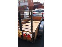 Trailer, steel good condition 8'2 X 4'2. Builders trailer