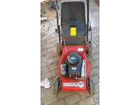 Petrol lawnmowef self propelled briggs aNd stratton not push mower cost 190 accept 60