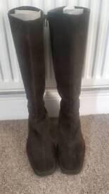 Hobbs suede boots