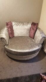 Swivel sofa
