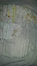 Newborn unisex baby clothes bundle