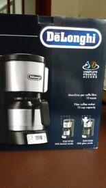 Delonghi 1000 Watts Filter Coffee Machine