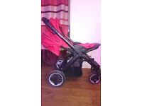 Oyster Pram with accessories and extras