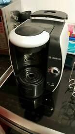 Bosch tassimo coffee machine and pod holder