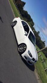 BMW 330i m sport auto 2007 convertibale in white limited edition!!!!!