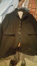 Mens Black Pytchley Hunt Coat
