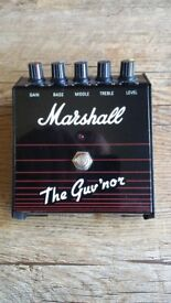 Marshall 'The Guvnor' Footpedal Made in Korea