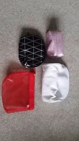 Selection of make up bags