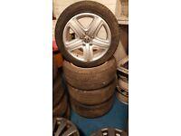 """Volkswagen Touareg Alloy Wheels 19 """" Genuine ATHEO"""