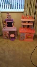 Kids kitchen and Sofia desk