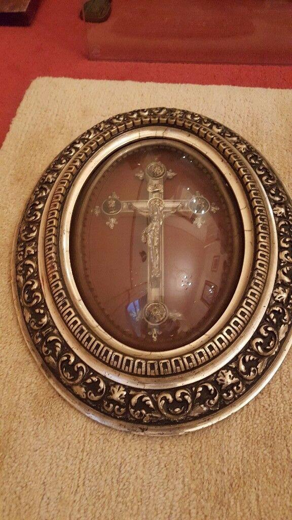 antique crucifix , Edwardian