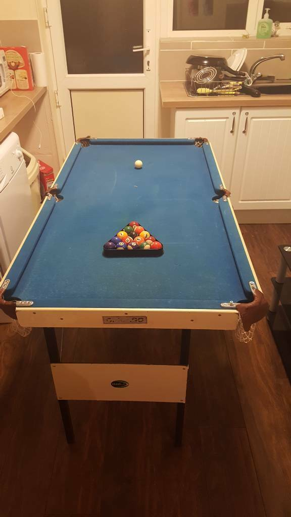 Pool Table Ft Long Buy Ft Wide In Plymouth Devon Gumtree - How wide is a pool table