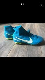 Nike football sock boots junior size 3.5