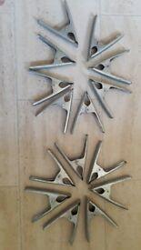 Metal Clamps (x17) - heavy duty