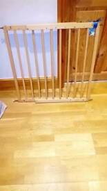 Solid beech stair gates