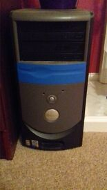 DELL computer tower and accessories