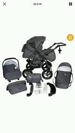 Lindo pushchair pram for sale with all Accept no car seat included