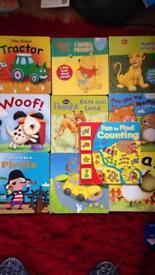 10 x board learning books